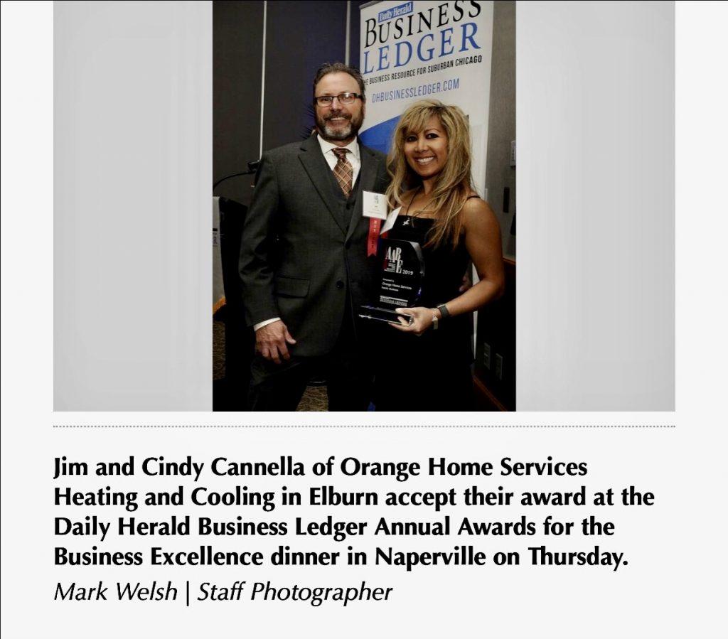 Jim and Cindy - Award Winners